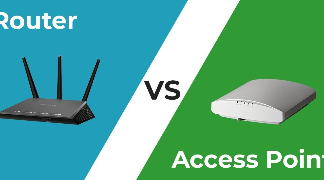 Perbedaan Wireless Router dan Access Point