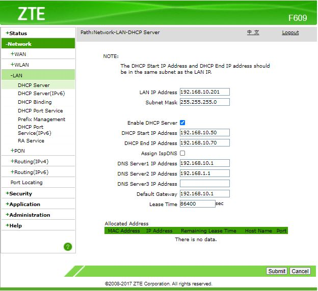 Cara setting wifi di access point ZTE