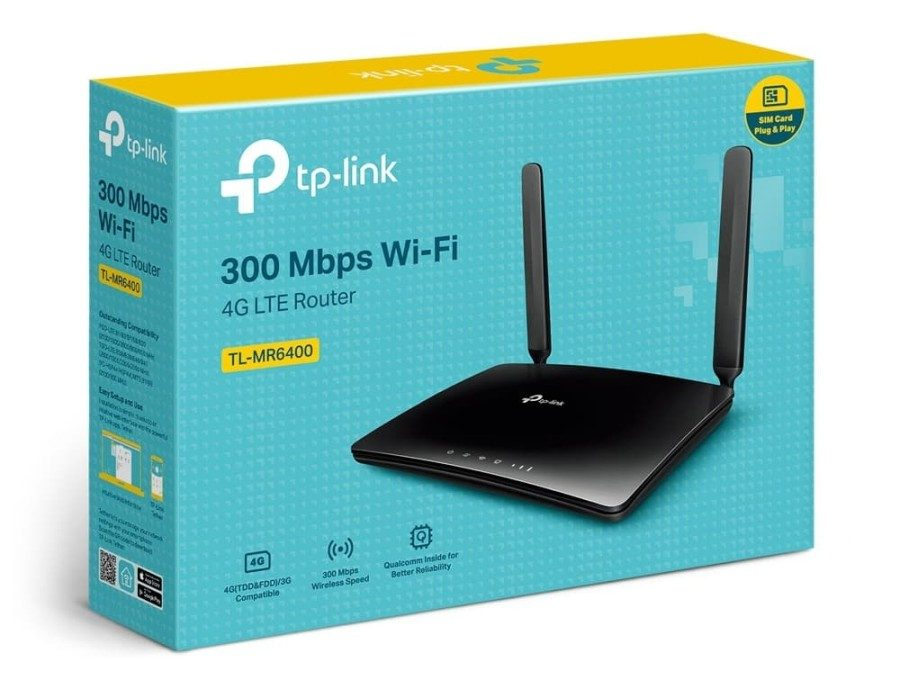Wireless router serba bisa : TP-Link TL-MR6400